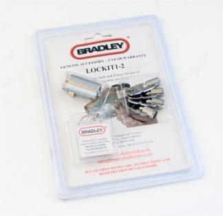 Koblingslåsecylinder m/2 nøgler Bradley