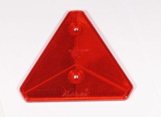 Rød refleks trekant