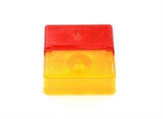 Rød/Orange glas til P0669