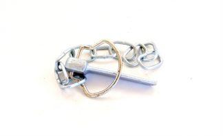 Flad ringsplit m/kæde